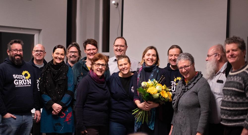 Die Grünen in Erftstadt starten mit eigener Bürgermeisterkandidatin in den Kommunalwahlkampf
