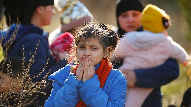 Aufnahme von Flüchtlingen aus den Flüchtlingslagern an der griechischen Grenze