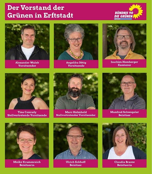 Die Grünen haben Vorstandsmitglieder nachgewählt