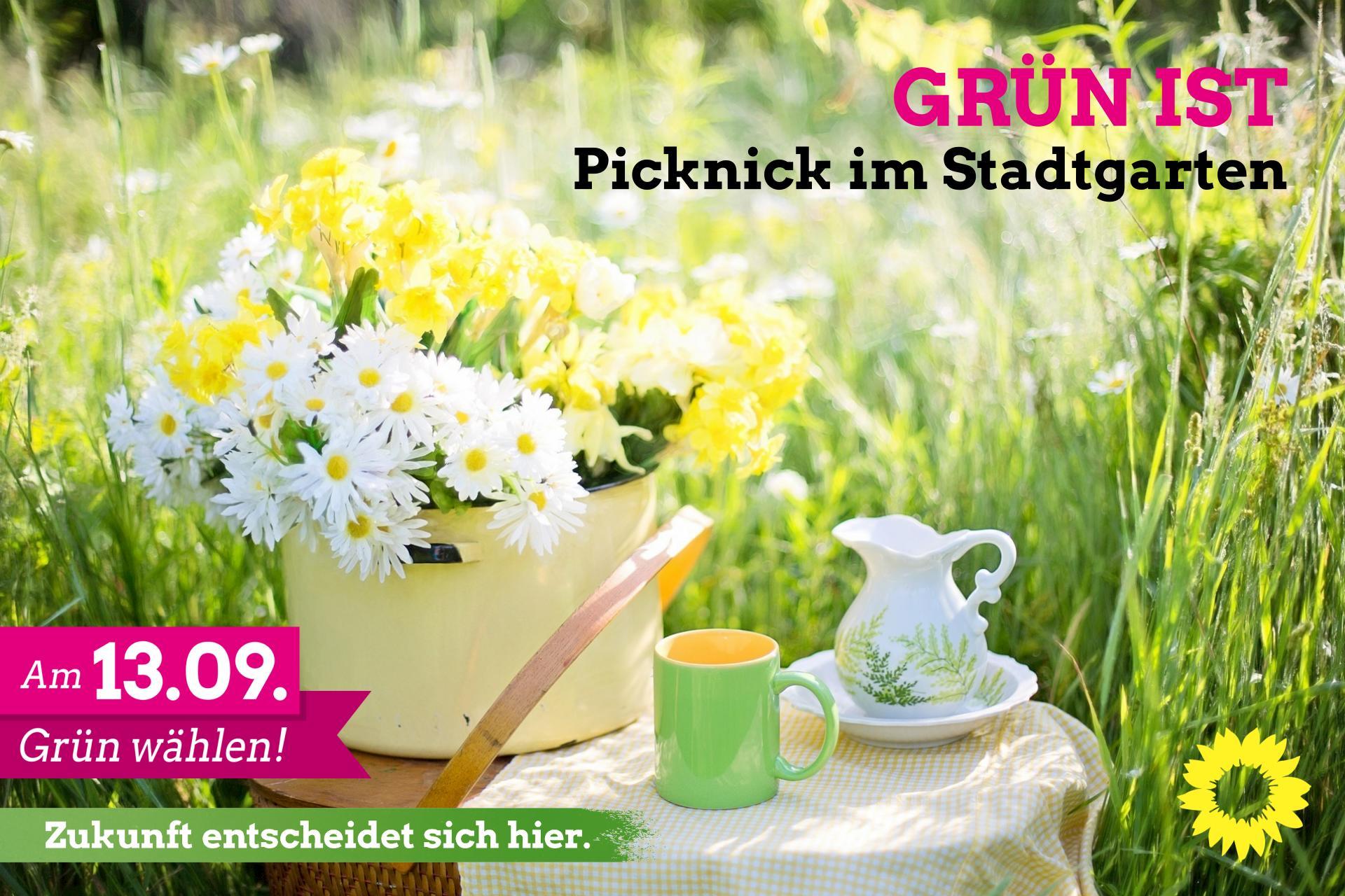 »Gemeinsame Zeit mit Musik«  Grüne laden am 14.08. um 18:00 Uhr in den Stadtgarten ein, Elmar Gillet zu Besuch