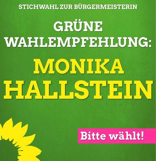 Wählt Monika Hallstein am 27.09.!