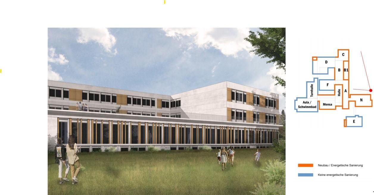 Sanierung Schulzentrum Lechenich - 40 Mio € für Kosmetik am Bau