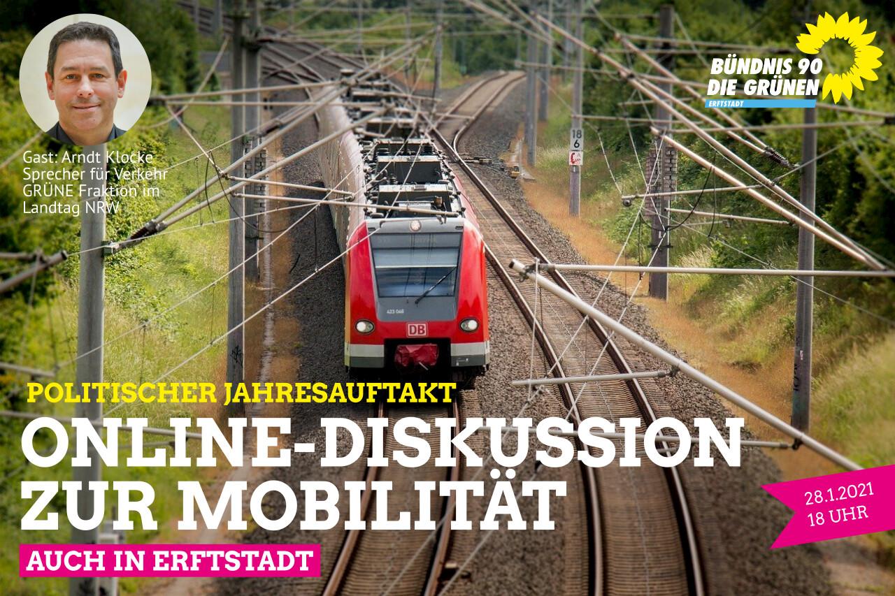 Politischer Jahresauftakt: Bürgerinnen und Bürger diskutieren über Mobilität in Erftstadt