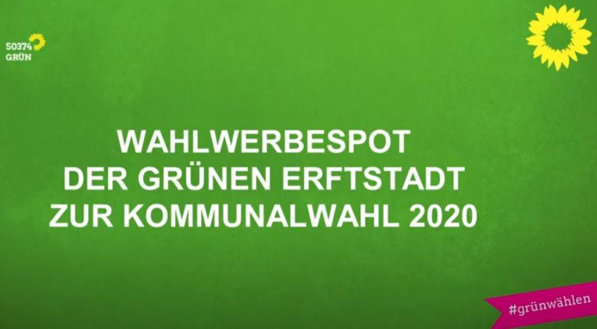 Wahlkampfvideo der Grünen Erftstadt