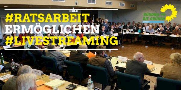 Fortführung aller Sitzungen und Live-Streaming