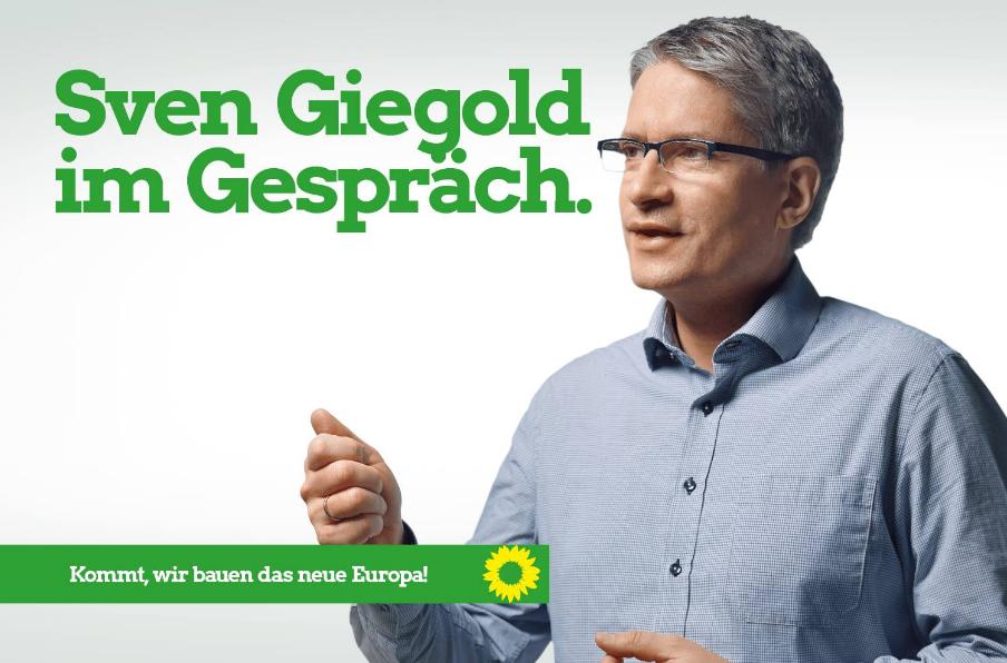 Triff Sven Giegold in Erftstadt-Liblar am Freitag, 03.05.2019