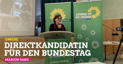Marion Sand - Unsere Direktkandidatin für die Bundestagswahl 2021