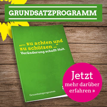 Das Grüne Grundsatzprogramm