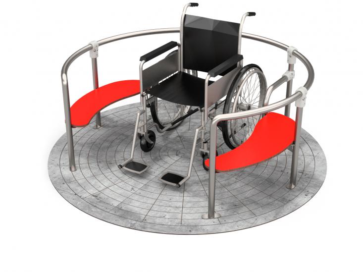 Inklusives Spielgerät - Sitzkarrusell