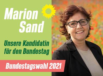 Marion Sand - Unsere Direktkandidatin für die Bundestagswahl