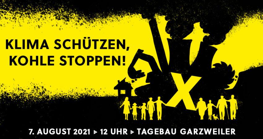 Menschenkette Garzweiler